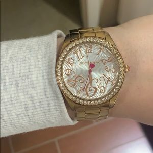 Betsey Johnson Rose Gold Watch